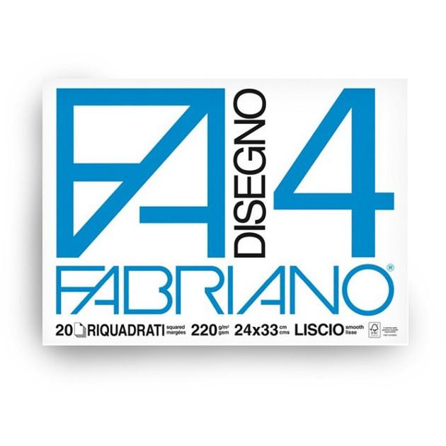 BLOCCO DISEGNO 24X33 F4 20F RIQUADRATO 5201597